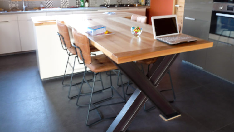 Table à manger - menuiserie AMCB